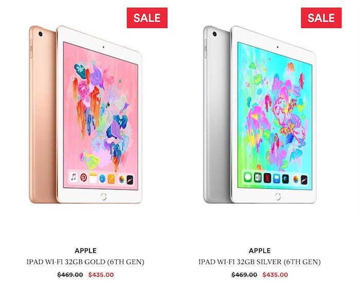 Apple 苹果 2018款 第6代 iPad 9.7寸平板电脑 32GB版 + 免费保护壳 -