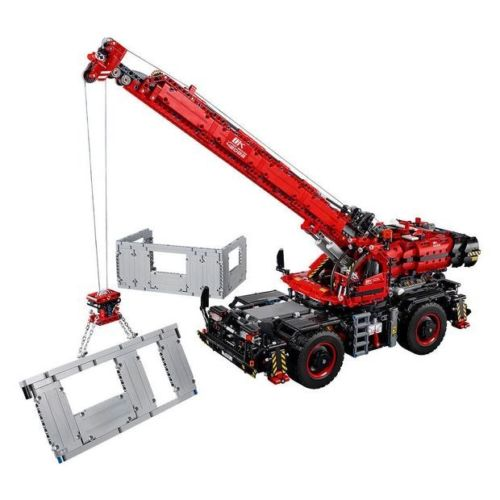 LEGO 乐高 机械组 42082 复杂地形起重机 积木玩具 - 75折优惠!