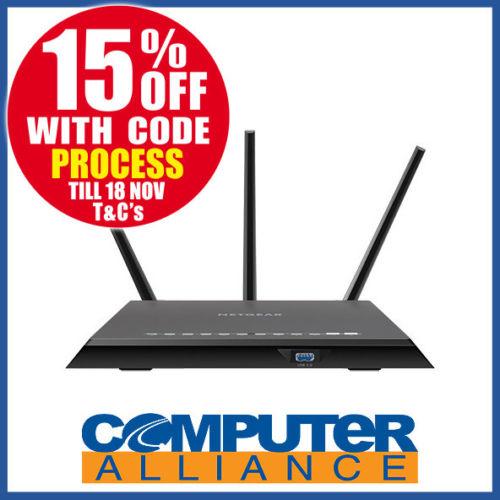 NETGEAR 美国网件 R7000P AC2300M 双频千兆 智能无线路由器 – 85折优惠!