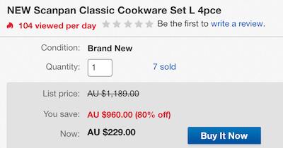 Scanpan Classic 厨具四件套(炖锅 + 煎锅) - 低至2折优惠!