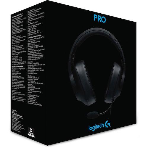 Logitech 罗技 G Pro 头戴式有线游戏耳机 - 8折优惠!