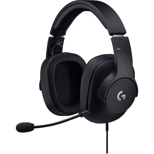 Logitech 罗技 G Pro 头戴式有线游戏耳机 – 8折优惠!
