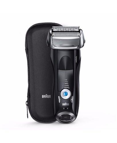 BRAUN 博朗 7840S 干湿两用电动剃须刀 + 旅行盒 – 低至4折优惠!