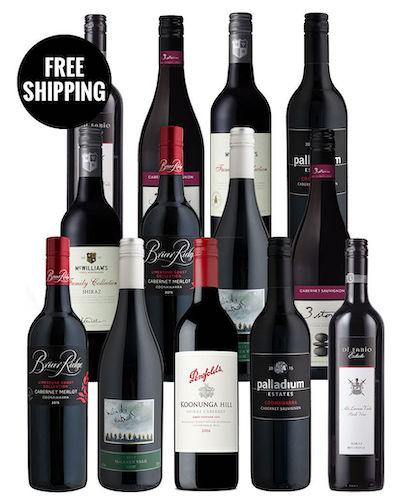 McWilliam's, Malindi 及 Penfolds 等品牌红酒 共13瓶 – 低至4折优惠!