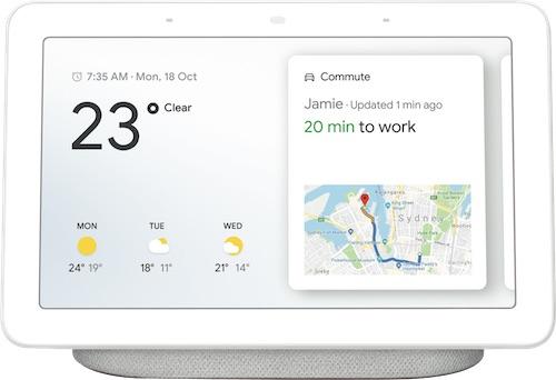 澳洲省钱快讯【ebay优惠码】                         谷歌 Google GA00516-AU Home Hub 智能音箱 –  8折优惠!                         券后$142! 2