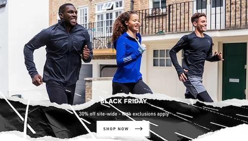 阿迪达斯 Adidas 澳洲官网黑五活动:基本全场所有商品 – 7折优惠!