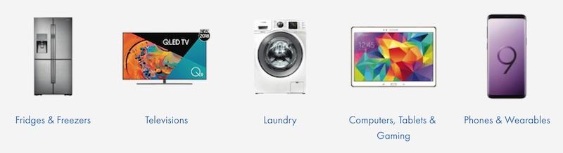 The Good Guys 店内所有三星品牌商品 - 冰箱、电视、洗衣机、手机等 -