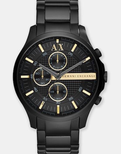 Armani Exchange Black Chronograph 黑色男士时尚手表 – 7折优惠!