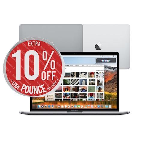 苹果 Apple 13寸及15寸 MacBook Pro with Touch Bar 2018款 笔记本电脑 – 9折优惠!