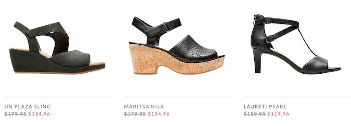 鞋履品牌 Clarks 官网:所有正价凉鞋 -