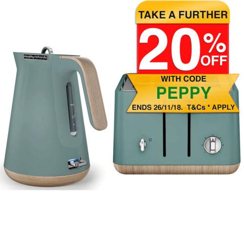 Morphy Richards 4片烤面包机 + 电热水壶套组 – 7折优惠!