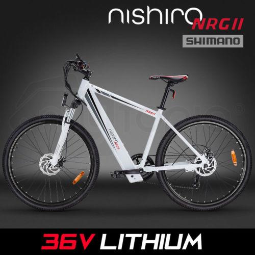 Nishiro电动自行车 43折优惠