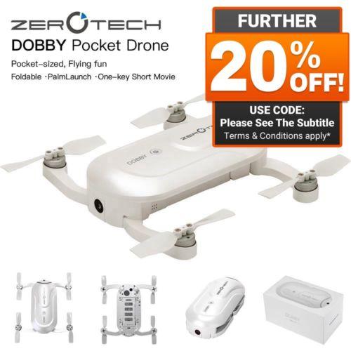 Zerotech Dobby 遥控自拍无人机 – 低至4折优惠!