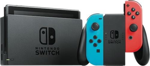 Nintendo 任天堂 Switch 游戏主机 – 9折优惠!
