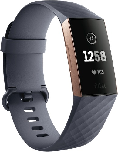 Fitbit Charge3 智能手环 2018款 7天续航–