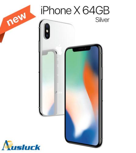 【澳洲货源】苹果 Apple iPhone X 64GB UNLOCKED 智能手机 – 8折优惠!