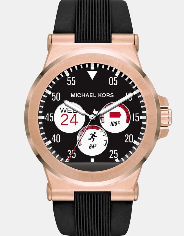 MICHAEL KORS Dylan 黑色表盘智能手表 – 5折优惠!