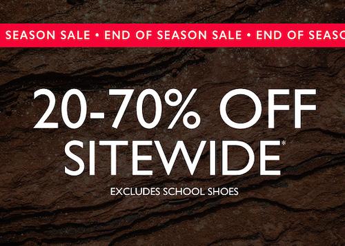 鞋履品牌 Clarks 澳洲官网季末活动:全场所有商品 –