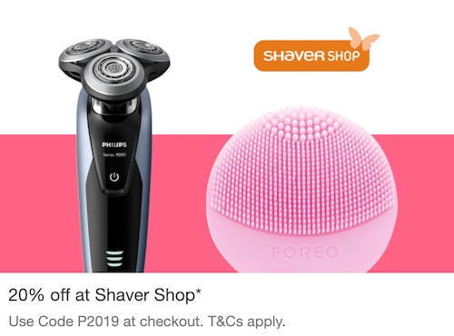 Shaver Shop eBay 店:全场所有商品 – 额外8折优惠!