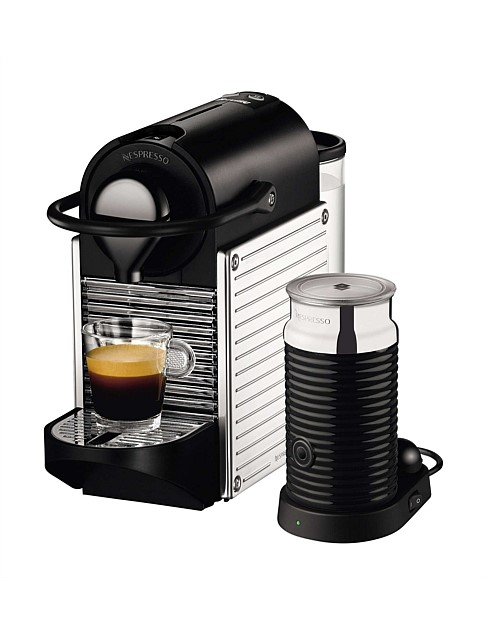 BREVILLE NESPRESSO BEC400XS Pixie 胶囊咖啡机 + 奶泡机 套装 – 低至半价优惠!