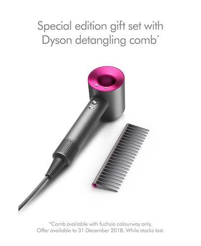 Dyson 戴森 Supersonic 无风叶高颜值电吹风  – 8折优惠!