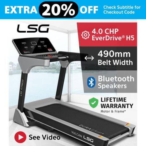 Lifespan Fitness 490mm宽 电动静音跑步机 – 低至4折优惠!