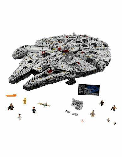 LEGO 乐高 Star Wars Millennium Falcon 75192 星球大战系列 豪华千年隼 – 9折优惠!