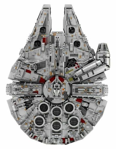 LEGO 乐高 Star Wars Millennium Falcon 75192 星球大战系列 豪华千年隼 – 8折优惠!