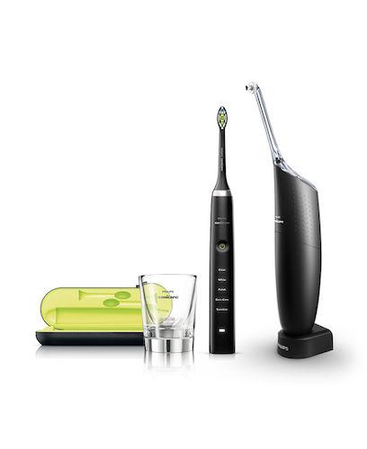 PHILIPS 飞利浦 HX8491/03 钻石系列 声波电动牙刷 + AirFloss 冲牙器 套装 – 8折优惠!