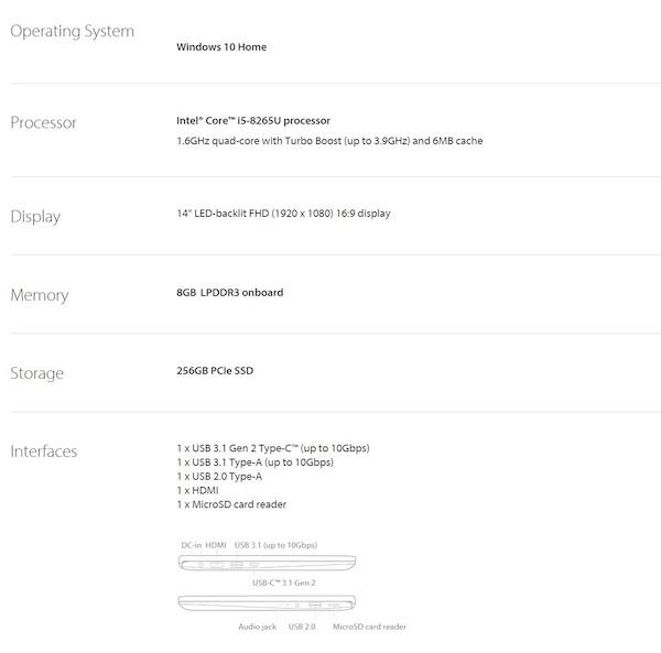 澳洲省钱快讯【ebay优惠码】                         Asus 华硕 ZenBook 14 UX433FA 14寸无边框笔记本电脑(i5-8265U 256GB SSD 8GB)- 6折优惠!                         券后$1276! 2