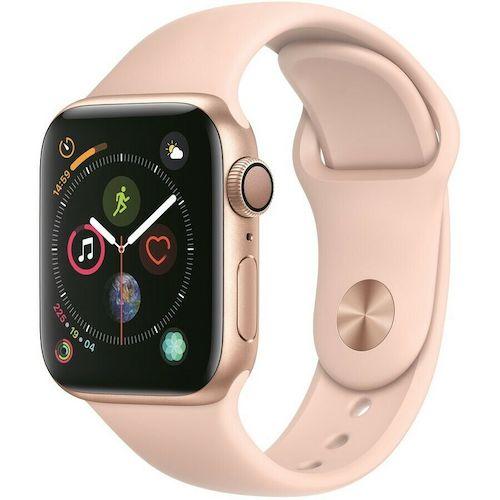 苹果 Apple Watch Series 4 GPS + Cellular 40mm 智能手表(铝金属表盘、玫瑰金运动表带)- 85折优惠!