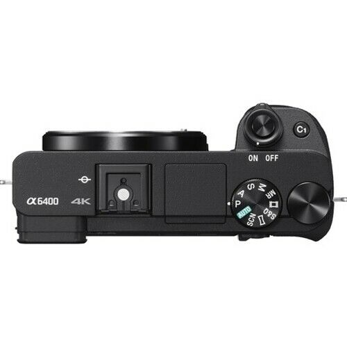 Sony 索尼 A6400 APS-C画幅微单 数码相机 单机身 – 8折优惠!