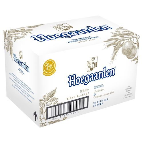 Hoegaarden White Beer 精酿白啤酒 330ml*24瓶 –