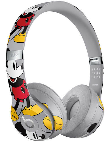 [Amazon Prime 会员] Beats Solo3 Wireless 头戴式无线蓝牙耳机 米奇90周年纪念款 –