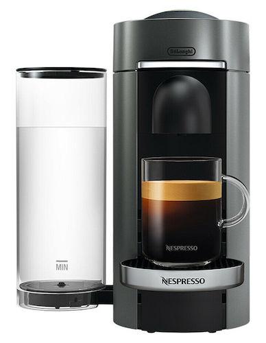 DeLonghi 德龙 Nespresso VertuoPlus ENV155T 胶囊咖啡机 – 限时特卖!