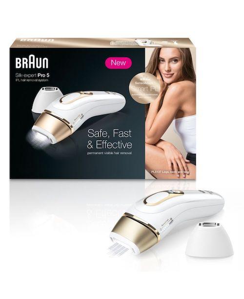 [eBay Plus 会员] 博朗 Braun Silk-expert Pro 5 长效脉冲光脱毛仪 – 5折优惠!