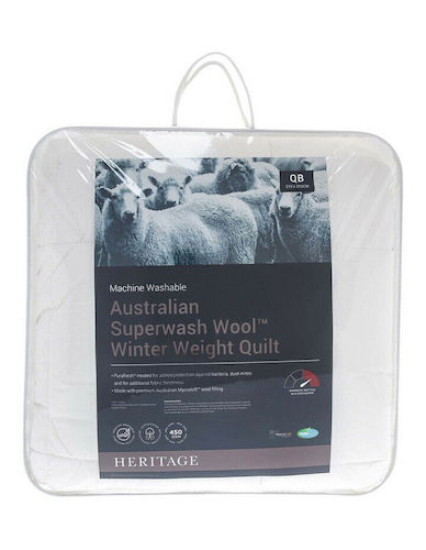 Heritage Australian Superwash Wool 澳洲羊毛被 – 低至4折优惠!