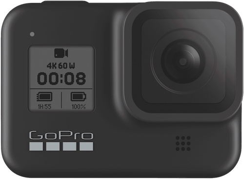 GoPro HERO8 Black 新款运动相机 4K60 防抖防水– 9折优惠!