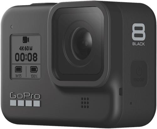 GoPro HERO8 Black 新款运动相机 4K60 防抖防水– 8折优惠!