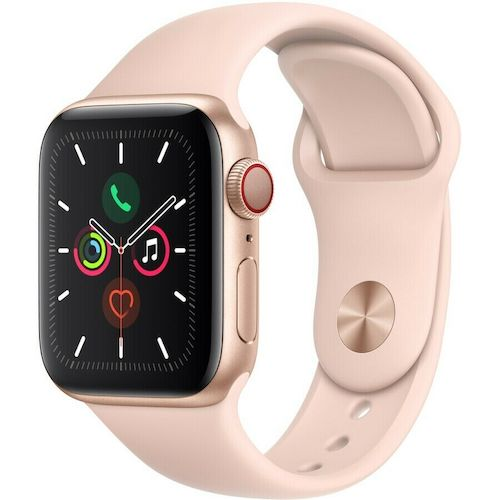 苹果 Apple Watch Series 5 智能手表 (GPS + Cellular) 40mm – 95折优惠!