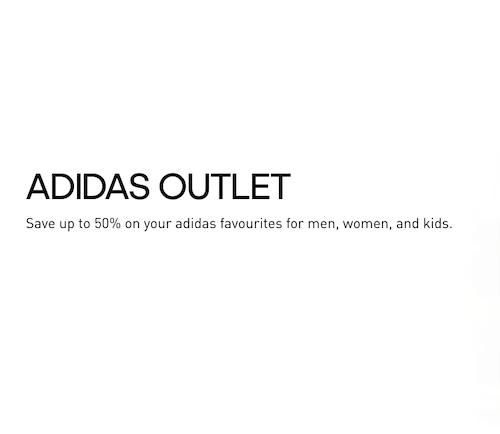 阿迪达斯 Adidas 澳洲官网特价活动:精选 Outlet 类商品 –低至5折优惠!