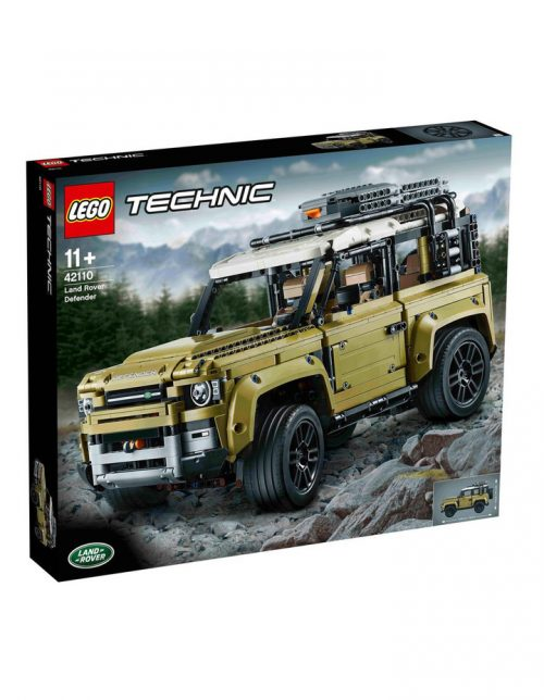 LEGO 乐高 科技机械组 42110 路虎卫士越野车 – 7折优惠!