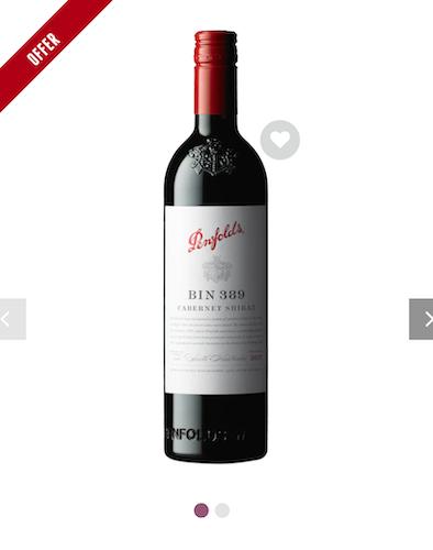 澳洲酒商 Dan Murphy's 活动:奔富 Penfolds 品牌部分精选红酒 – 特价热卖!