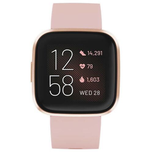 Fitbit Versa 2 健身健康智能手表 – 8折优惠!
