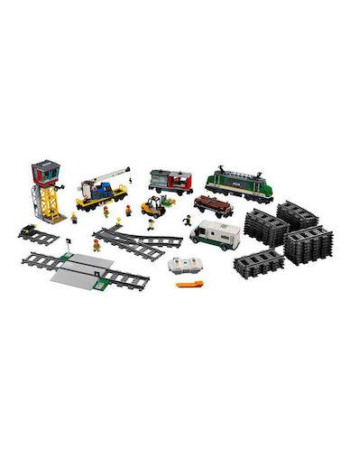 LEGO 乐高 城市系列 60198 City Cargo Train 货运火车 – 66折优惠!