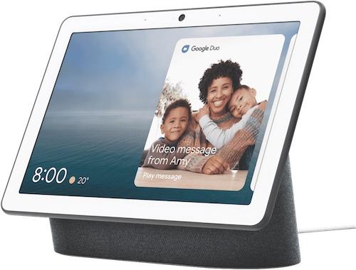 谷歌 Google  Home Nest Hub Max 大屏版智能音箱 语音助手 – 7折优惠!