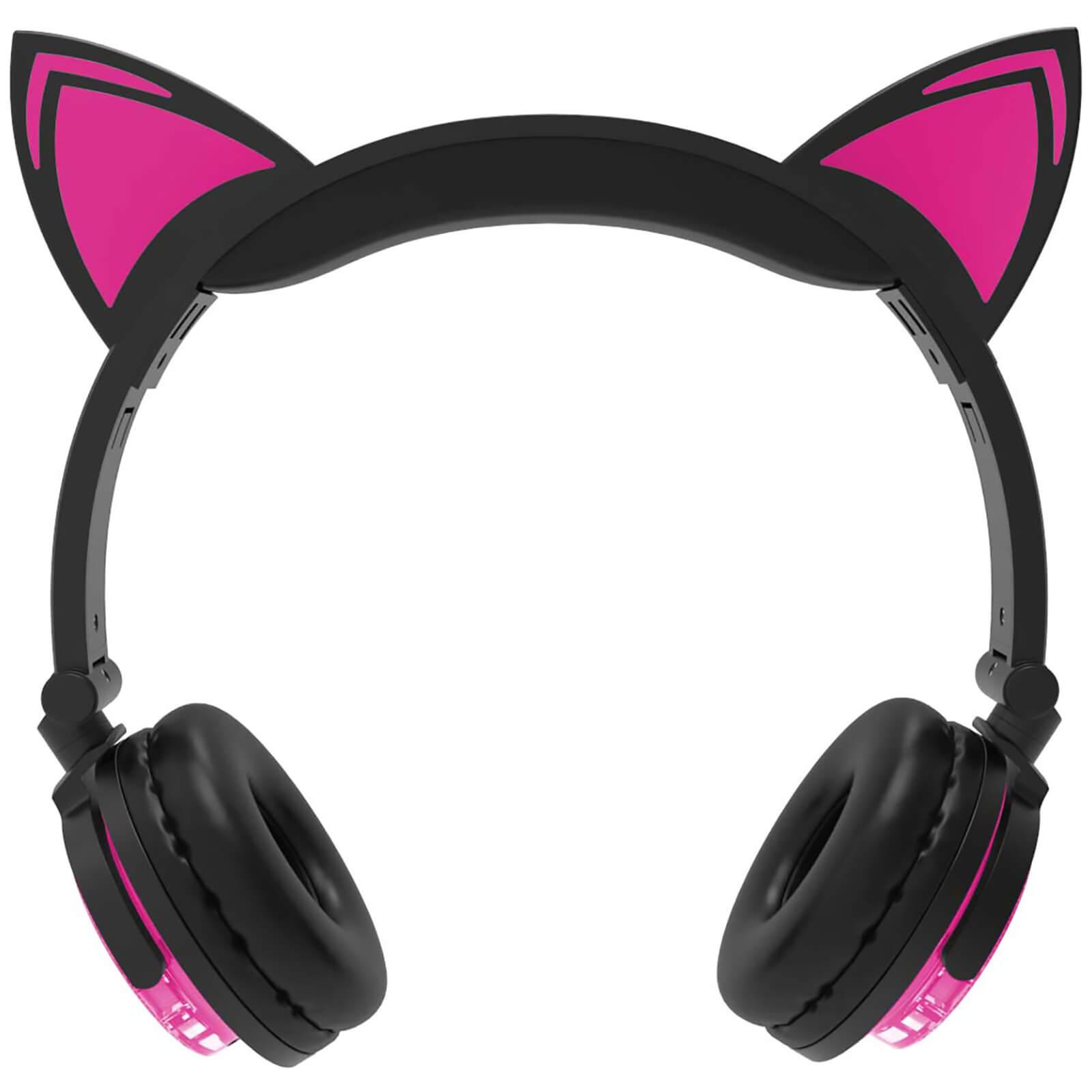LIVE LOVE MUSIC 猫耳式耳机带麦克风