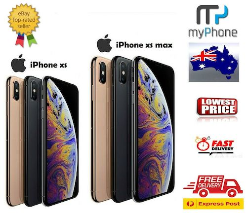 【Opened – never used】苹果 Apple iPhone XS / XS Max 智能手机 – 9折优惠!