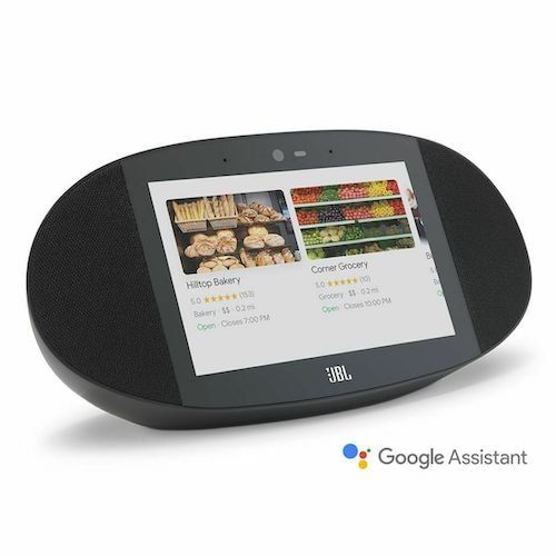 JBL Link View Screen Speaker with Google Assistant  8英寸屏 语音操控 智能音箱 – 低至4折优惠!