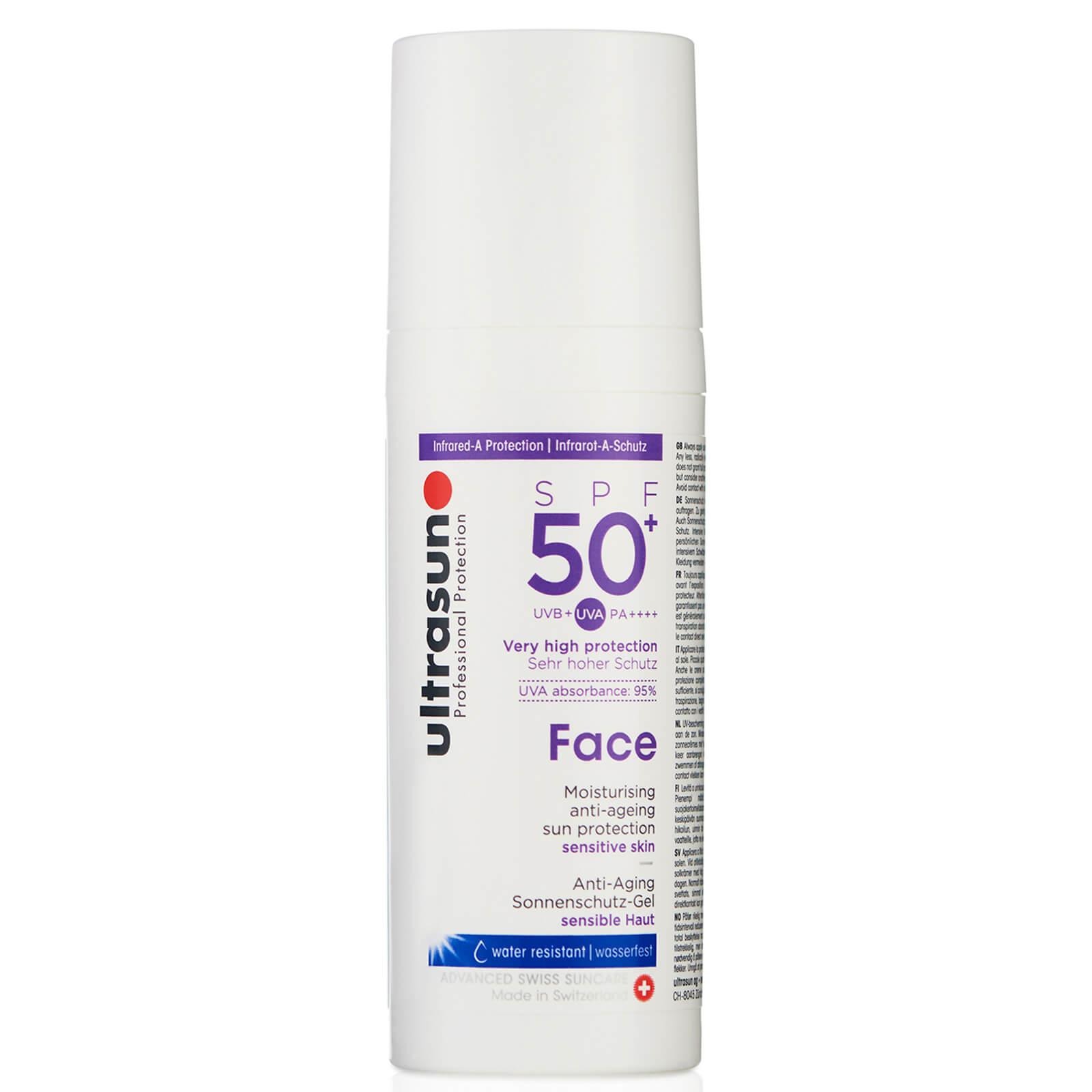 ULTRASUN FACE 抗衰老乳液 SPF 50+ 50ML